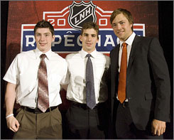 Matt Duchene, John Tavares and Victor Hedman almost certainly will be gone before the fourth pick in the NHL Draft on Friday.