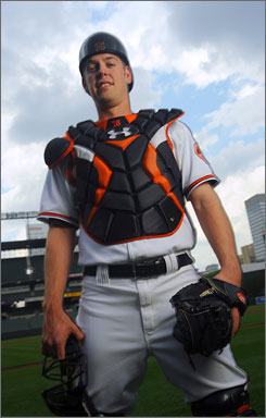 "The Orioles' 6-5, 230-pound Matt Wieters, the fifth pick in the 2007 draft, entered amid a wave of hype. ""It's just part of baseball,"" he says. ""I love this game, and that comes with it."""