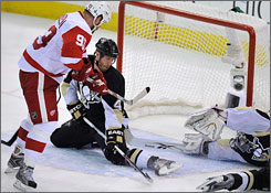 Rob Scuderi's leg save on Johan Franzen in Game 6 of the Stanley Cup Finals will help raise his value in the free-agent market.