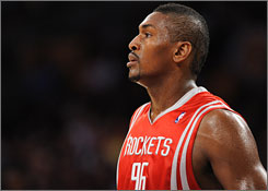 The Rockets' Ron Artest averaged 17.1 points last season and could command a contract in the $7 million to $8 million range.