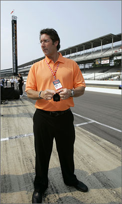 Tony George ran Indianapolis Motor Speedway for 19 years and founded the IRL.