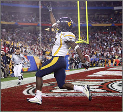 Running back Noel Devine will be a big-play man for the West Virginia offense.