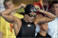 Dara Torres won the 50-meter freestyle Thursday but said she must improve her time to contend at the world championships.