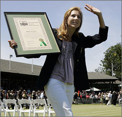 Monica Seles won nine majors during her career that earned her induction into the International Tennis Hall of Fame.