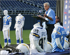 "Former Chargers receiver Lance Alworth said the team's rivalry with the Raiders flared up after Al Davis left San Diego to run the Oakland franchise when both were in the AFL. ""He would give us heck every time we played,"" Alworth said."