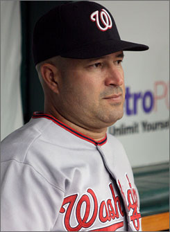 Manny Acta managed the Washington Nationals for 2 1/2 seasons.