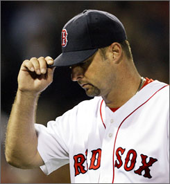 Red Sox teammates Josh Beckett and Tim Wakefield have accounted to 41% of their teams wins.