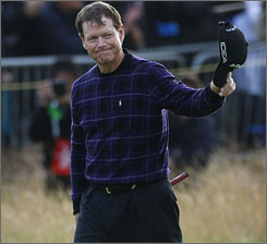 With a one shot lead, Tom Watson is just 18 holes away from making history as the oldest golfer to win a major.