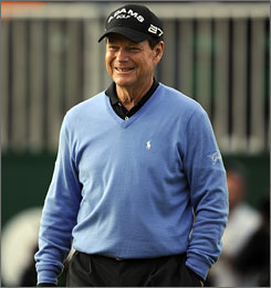 Tom Watson came just short of capturing his sixth British Open and becoming the oldest man to win a major.
