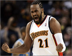 Warriors reserve Ronny Turiaf made strides last season, finishing with career highs in games played (79), minutes (21.5 average), rebounds (4.6) and assists (2.1).