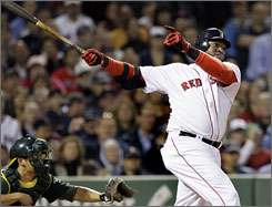Despite what seems like a down year, David Ortiz probably will end this season with numbers on par with 2008's.