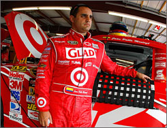 Ninth in the NASCAR Sprint Cup standings, Juan Pablo Montoya has no wins this year but has finished in the top 10 nine times.