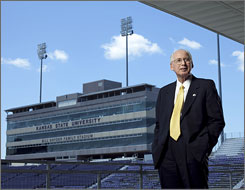 Bill Snyder will return to the sidelines at Kansas State after three years of retirement. The Wildcats won 17 games in those three seasons after winning 136 games in Snyder's 17 seasons during his first tenure as head coach.