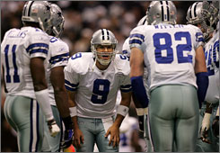 Cowboys QB Tony Romo has led the team to a 5-10 record in December and January during the past three seasons.