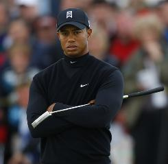 Tiger Woods, shown during the British Open on July 17, will play at the Buick Open at Warwick Hills as preparation for the Bridgestone Invitational next week and the PGA Championship in two weeks.
