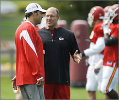 "Says new GM Scott Pioli of turning around the Chiefs, ""Part of it is not only changing the culture of your football team and your locker room, it's changing the culture of all the things that touch your football team and your locker room."""