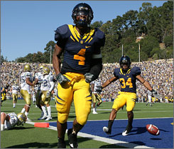 California's Jahvid Best is the top returning rusher among all Football Bowl Subdivision schools.