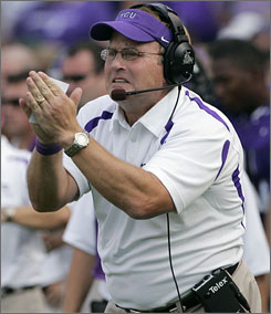 After going 12-2 in 2008, Gary Patterson and TCU will start the season at No. 17 in the USA TODAY poll.