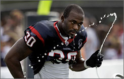 Texans DE Mario Williams, the No. 1 overall pick in 2006, earned his first Pro Bowl invitation last year.