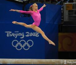 "Nastia Liukin isn't ready to retire after winning gold in Beijing. ""I still have so much more to give to the sport,"" she says."