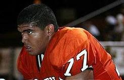 Todd Peat Jr., a junior defensive tackle at Tempe (Ariz.) Corona del Sol High School, is following in the footsteps of his father, former NFL offensive lineman Todd Peat, and gaining attention as one of the top 2011 prospects in the state.