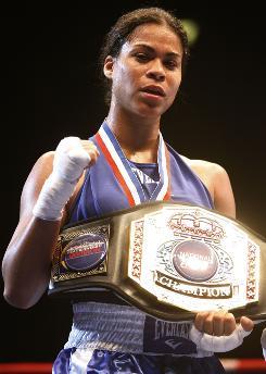 Melissa Roberts is a three-time U.S. champion.