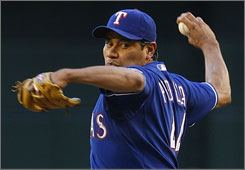The Rangers released pitcher Vincente Padilla earlier this year, but they still owe him $3 million.