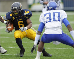 Injuries were the only thing to slow down Kent State's Eugene Jarvis during the 2008 season.