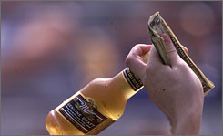 The NFL intends to limit the sale of beers in 2009.