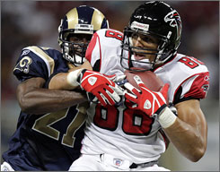Tony Gonzalez credits his diet for keeping him on the top of his game as he looks to make his 11th straight Pro Bowl in his first season with the Atlanta Falcons.