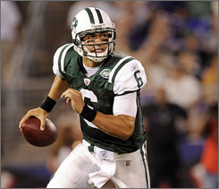 "Says former Jets QB Boomer Esiason of the expectaions on Mark Sanchez, ""I've been trying to caution people to keep their expectations to a realistic minimum and recognize that he's a rookie and playing the hardest position in all of sports."""