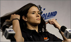 Tony Stewart says he expects Danica Patrick to run an abbreviated NASCAR schedule sometime soon.