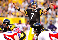 Ben Roethlisberger and the Pittsburgh Steelers look to earn a trip to Miami and a shot at back-to-back Super Bowl championships.