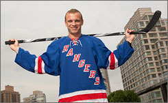 Marian Gaborik, a top scorer when healthy, signed a five-year, $37.5 million deal with the Rangers.
