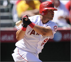 Angels first baseman Kendry Morales has been a fantasy find, batting .306 with 30 home runs and 98 RBI through Sept. 14.