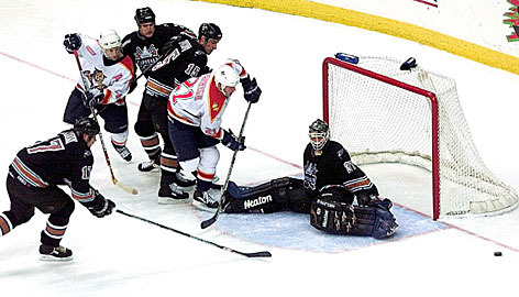 Olaf Kolzig's dominating second half of the 1999-2000 season brought the Capitals back into contention.