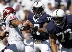 Quarterback Daryll Clark and Penn State will play before a home crowd that will be mostly dressed in white.