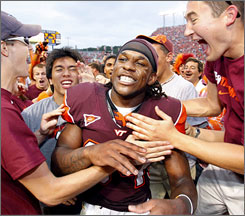 Virginia Tech has little time to celebrate its defeat of Nebraska with Miami (Fla.) coming to town.