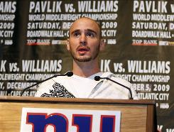 Kelly Pavlik announced during a Tuesday press conference that his fight against Paul Williams, originally scheduled for October, has been rescheduled for Dec. 5.