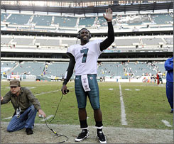 Michael Vick acknowledged that before he returned to the NFL, he thought he would be able to be a starting quarterback again.