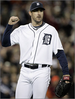 Justin Verlander is the main man of Tigers manager Jim Leyland, who got eight innings from his star righthander in Game 2 against the Twins on Tuesday. Verlander is 18-9 on the year.