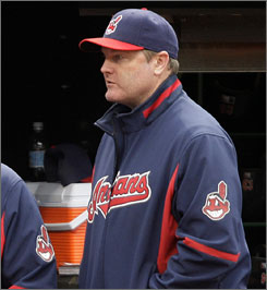 Eric Wedge was the AL manager of the year in 2007, when the Indians won 96 games.