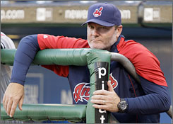 Eric Wedge, the Indians' skipper for the last seven years, won the AL manager of the year award in 2007.