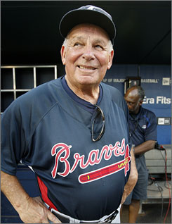 Braves manager Bobby Cox will be closer to home after '10.