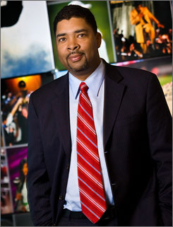 As ESPN's senior VP of content development and enterprises, Keith Clinksdale is working on having the cable network become a major maker of documentarys.