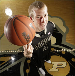Robbie Hummel is back for his junior season with the Purdue Boilermakers, who hope to make a run to the Final Four in Indianapolis, just a 60-mile drive from Purdue's campus.