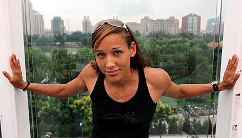 Olympic hurdler Lolo Jones posed for ESPN The Magazine's 'Body Issue' only after plenty of debate.