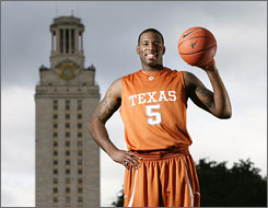 Damion James is back for his senior season at Texas. With Gary Johnson and Dexter Pittman joining James in the Longhorns' frontcourt, they will have a significant edge in the paint.
