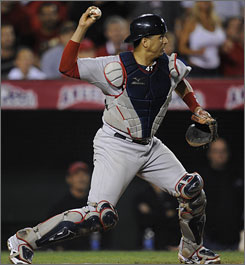 Victor Martinez helped the Red Sox pursue the Yankees in the AL East after being acquired from the Indians on July 31.