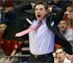 Rick Pitino wants to move on from a sex-and-extortion scandal that rocked his program this offseason.
